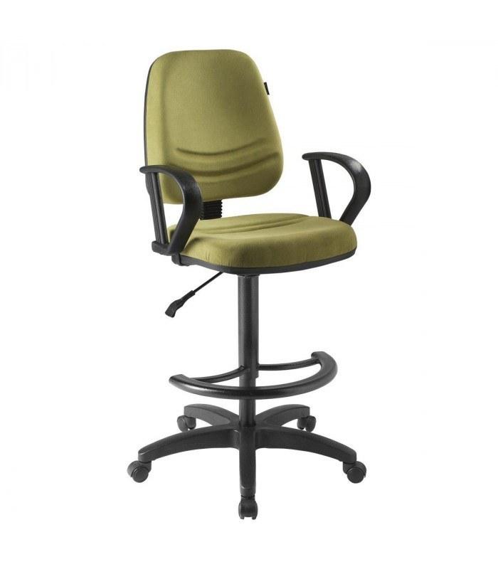 صندلی اپراتوری راحتیران F322 با روکش چرم یا پارچه