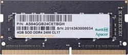 عکس رم لپ تاپ 4 گیگابایت Apacer  مدل AS04GGB24CETBGH  رم-لپ-تاپ-4-گیگابایت-apacer-مدل-as04ggb24cetbgh