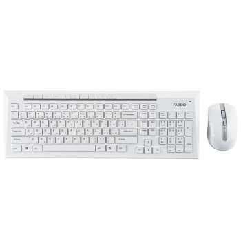 کیبورد و ماوس بی سیم رپو مدل 8200P 2.4GHz با حروف فارسی | Rapoo 8200P 2.4GHz Wireless Keyboard and Mouse With Persian Letters
