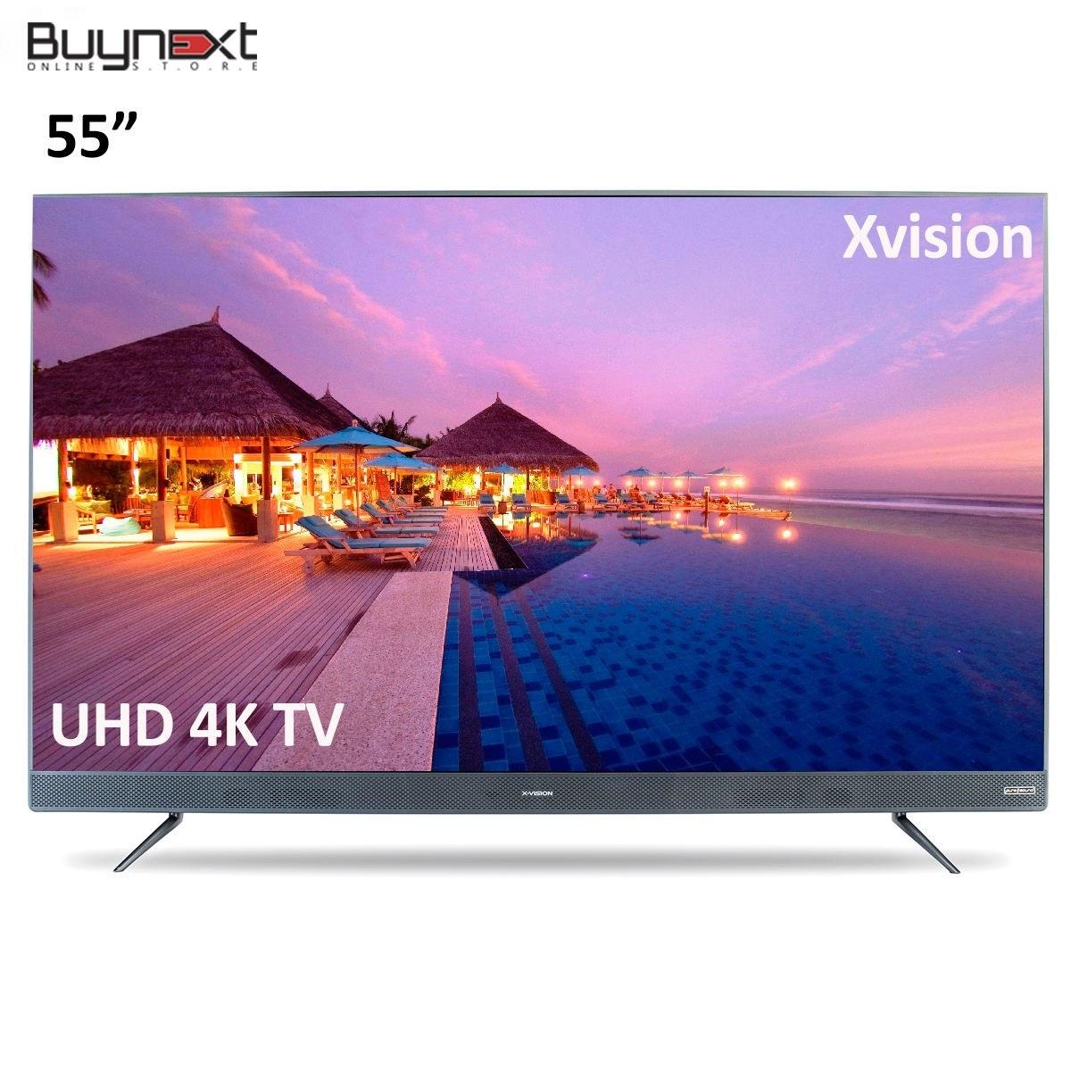 تصویر تلویزیون ال ای دی هوشمند ایکس ویژن مدل 55XTU745 سایز 55 اینچ X.Vision 55XTU745 Smart LED TV 55Inch