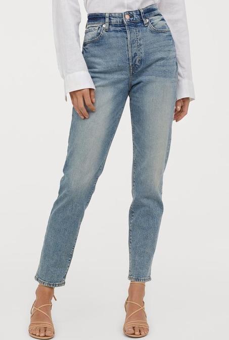 شلوار جین اچ اند ام با کد 0714790008 | شلوار جین زنانه اچ اند ام