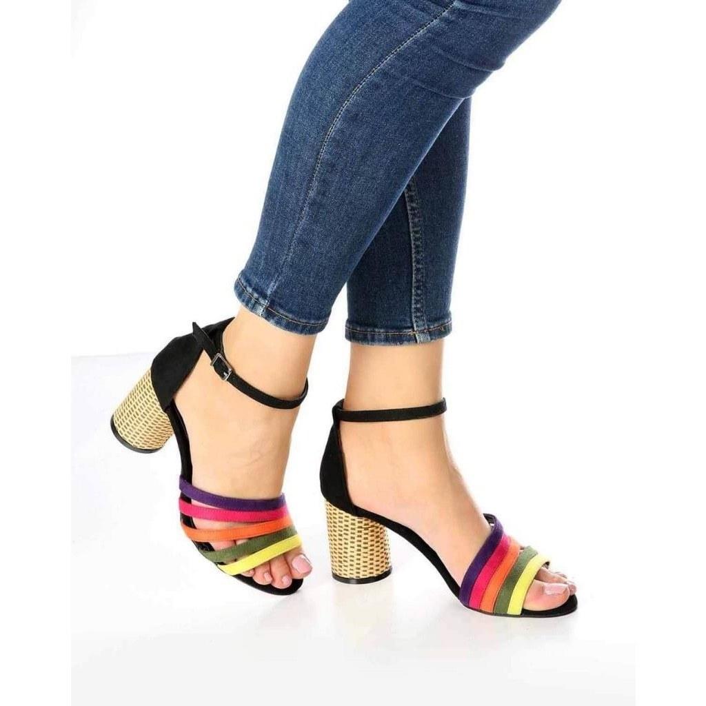 خرید اینترنتی کفش پاشنه دار زنانه برند mosimoso از استانبول ترکیه |