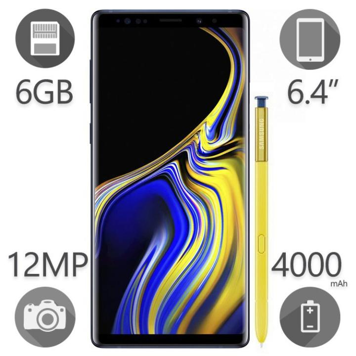 img گوشی سامسونگ گلکسی Note 9 | ظرفیت ۱۲۸ گیگابایت Samsung Galaxy Note 9 | 128GB