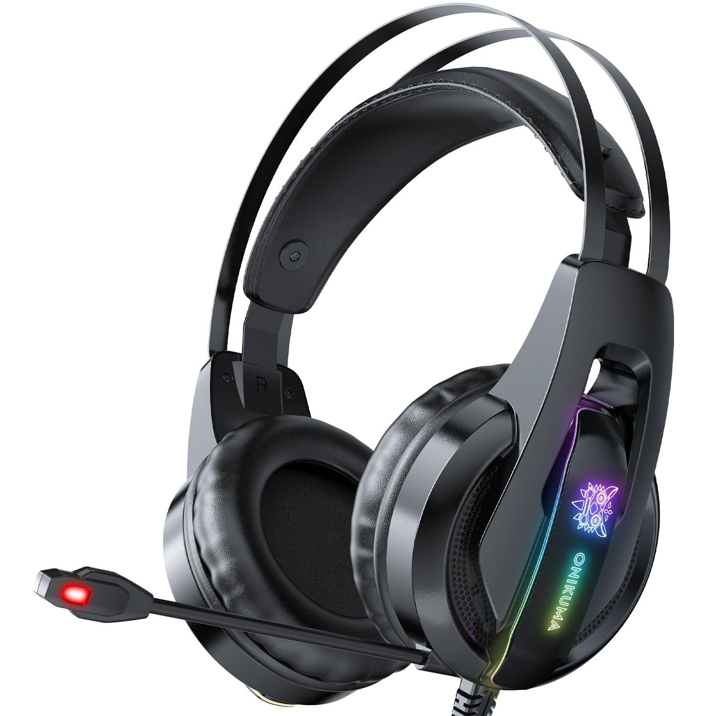 تصویر هدفون گیمینگ اونیکوما مدل K16 ONIKUMA K16 Gaming Headphones