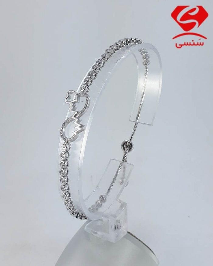 عکس دستبند نقره دخترانه و زنانه  دستبند-نقره-دخترانه-و-زنانه