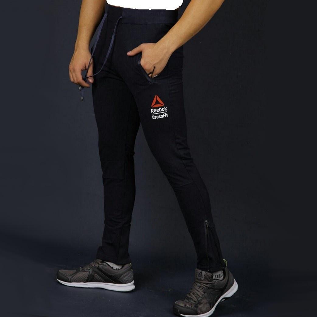 عکس شلوار مردانه مشکی ریباک پایین زیپ دار Reebok Men's Trousers شلوار-مردانه-مشکی-ریباک-پایین-زیپ-دار