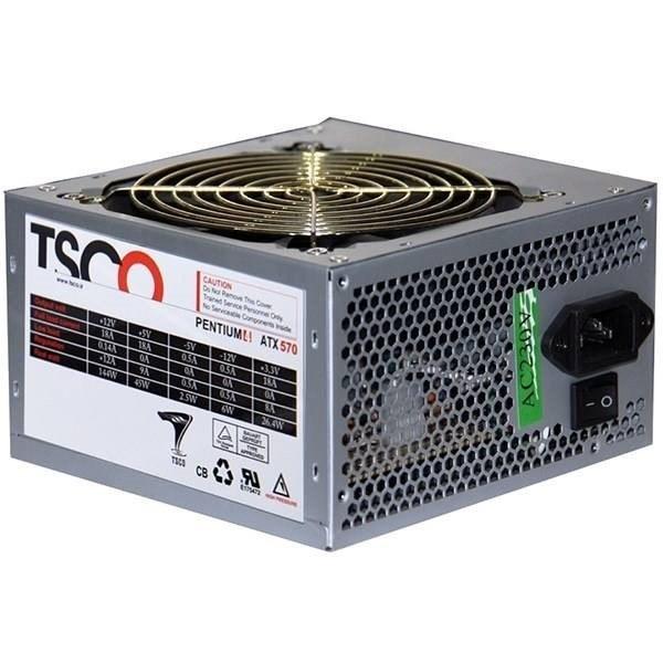 تصویر منبع تغذیه کامپیوتر تسکو مدل TP 570W کد 7777