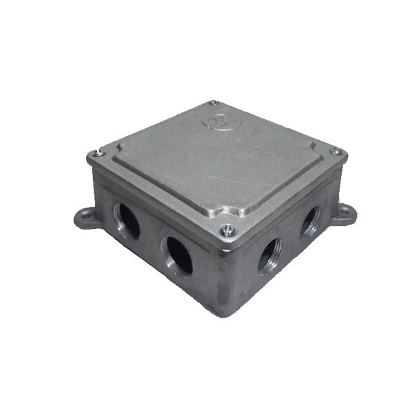 تصویر جعبه تقسيم فلزي روكار 10*10