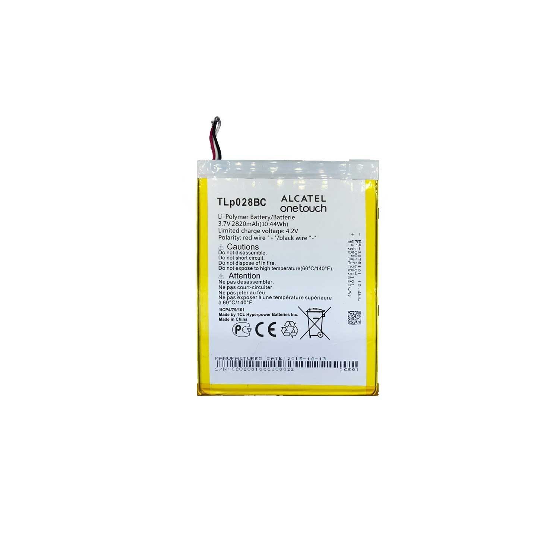 تصویر باتری تبلت آلکاتل Alcatel tab pixe 3 با کد فنی TLp028BC