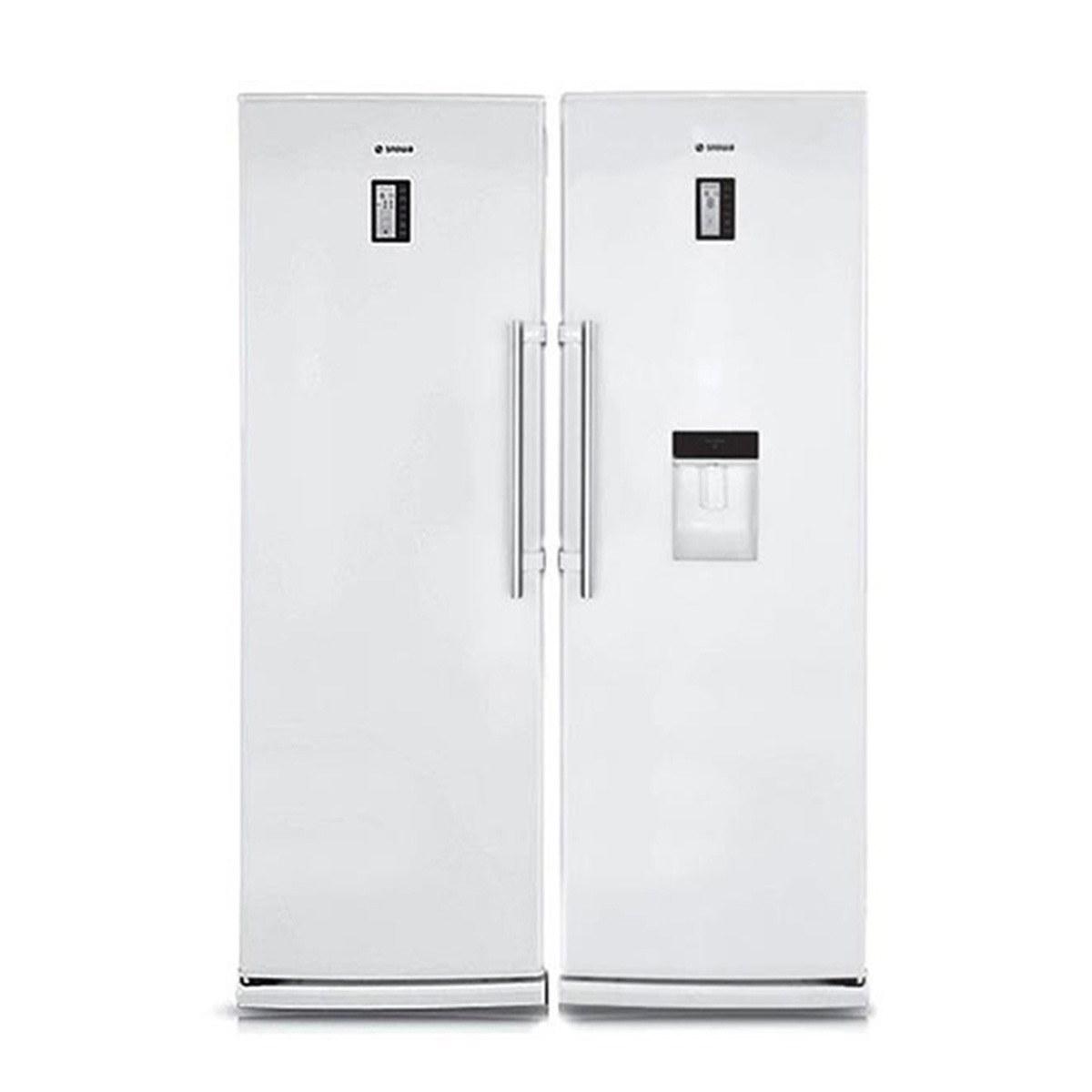 یخچال فریزر دوقلو اسنوا مدل S5-S6 0190SW