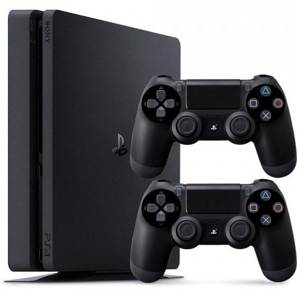 کنسول بازی سونی باندل ۲ دسته   Sony PS4 Playstation 4 Slim DualShock4 Bundle - کنسولها  