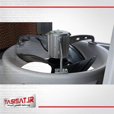عکس کولر پلیمری سلولزی البرز مدل 15000-پایین زن Evaporative air cooler 15000 - Down کولر-پلیمری-سلولزی-البرز-مدل-15000-پایین-زن