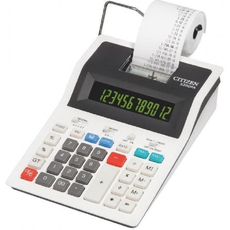 تصویر ماشین حساب سیتیزن مدل 520DPA ماشین حساب سیتیزن 520DPA Desktop Printing Calculator