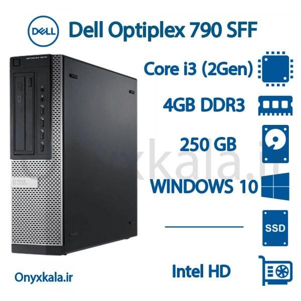 تصویر کامپیوتر دسکتاپ دل مدل OptiPlex 790 با پردازنده i3 OptiPlex 790