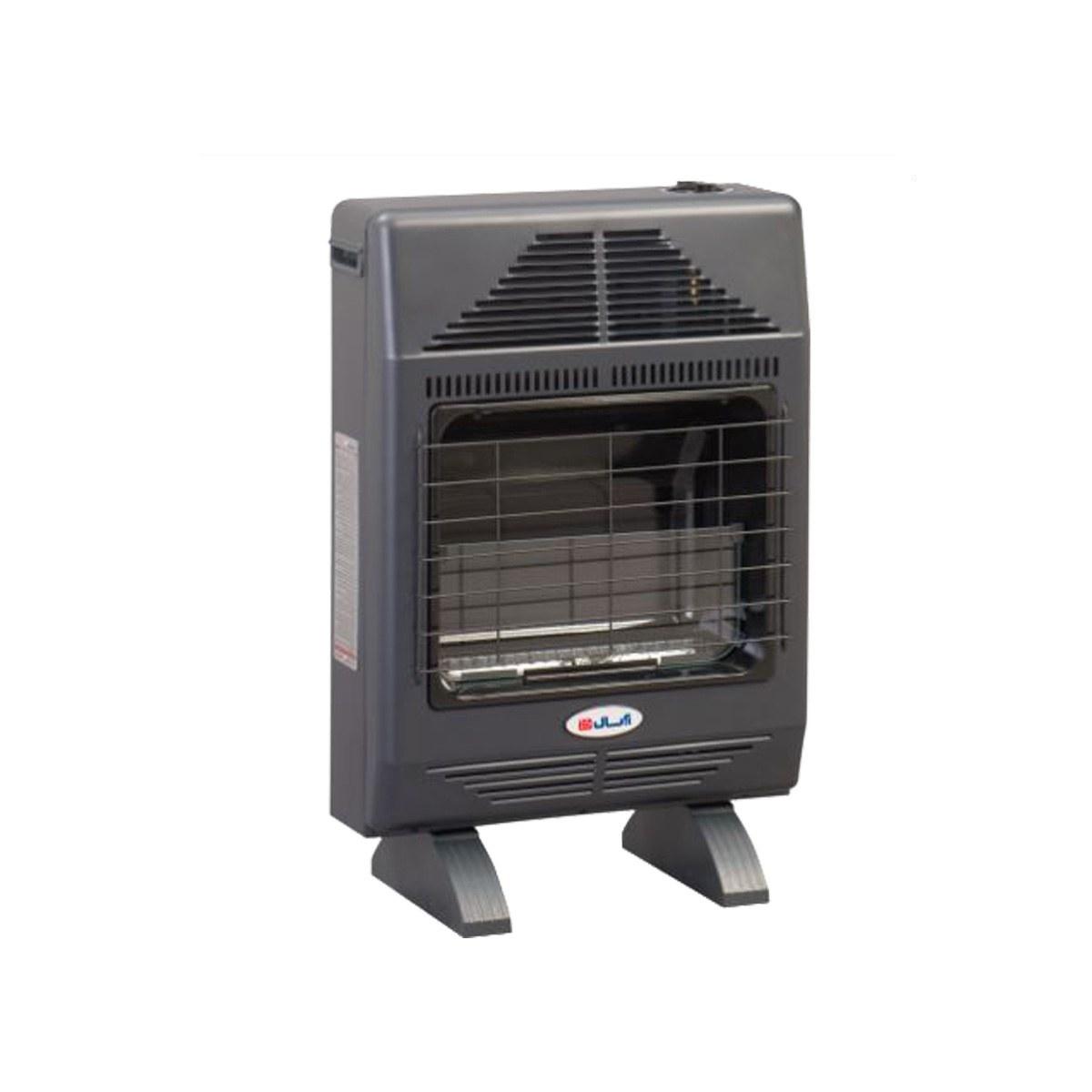 تصویر بخاری گازی بدون دودکش آبسال شعله آبی Aabsal Gas Heater 481