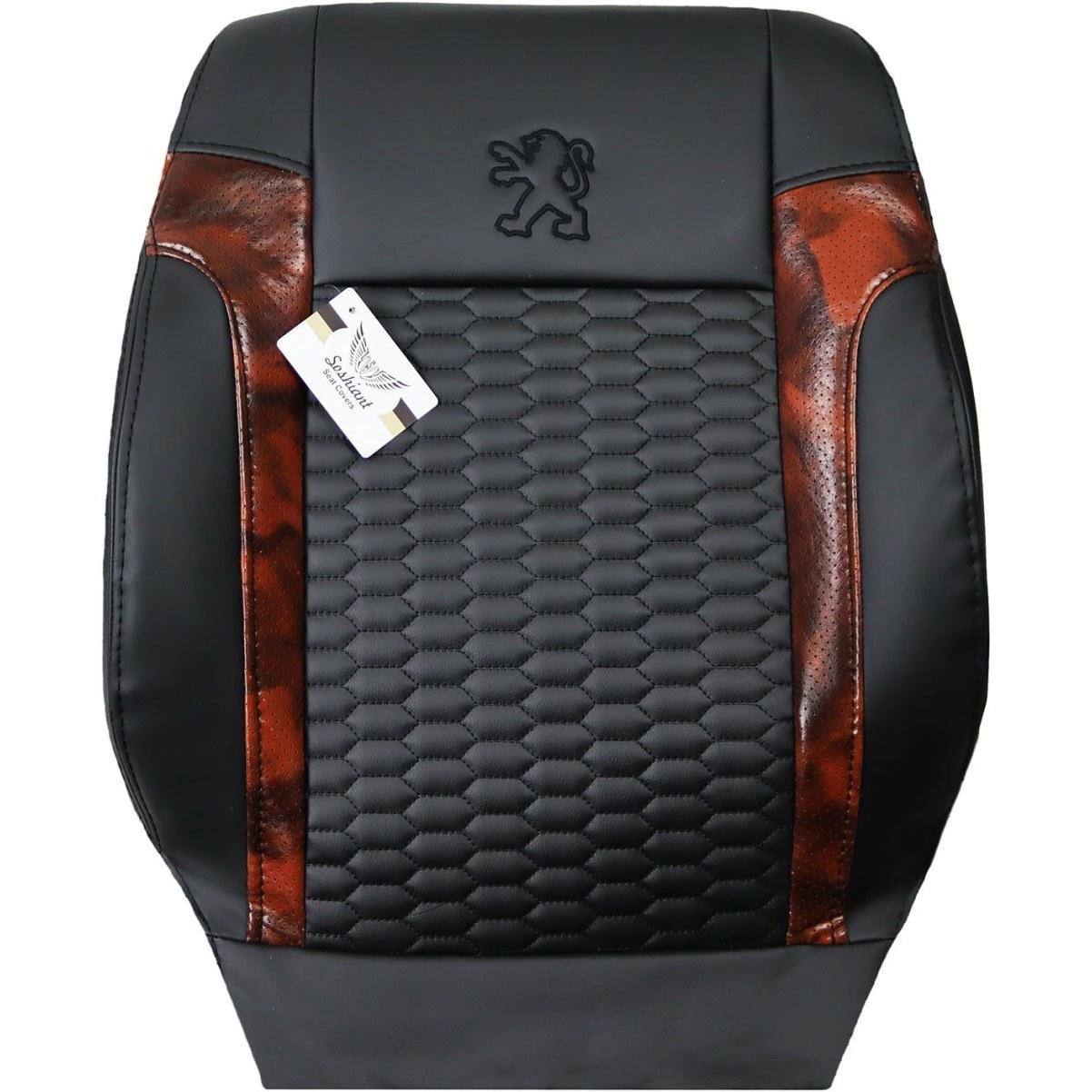 تصویر روکش صندلی چرم پژو 405 مدل ST