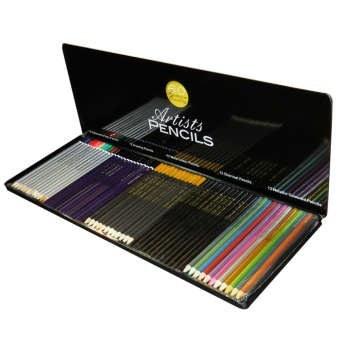 مدادرنگی 60 رنگ آرتیستس پنسیلز مدل Premium کد PQ60 |