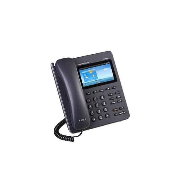 تصویر تلفن تحت شبکه لمسی گرنداستریم Grandstream GXP2200 Grandstream GXP 2200 touchscreen phone