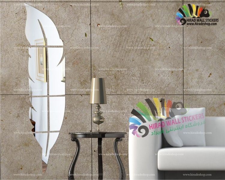 تصویر آینه دکوراتیو و تزئینی  طرح پر کد hpa028