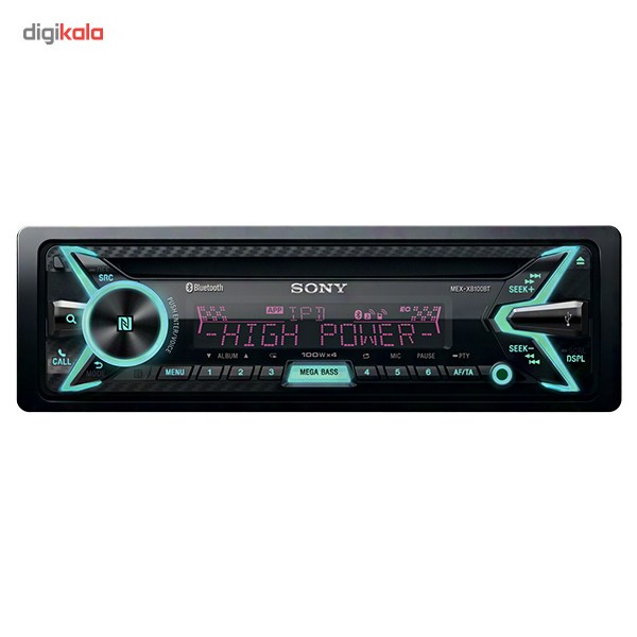 img پخش کننده خودرو سونی مدل MEX-XB100BT Sony MEX-XB100BT Car Audio