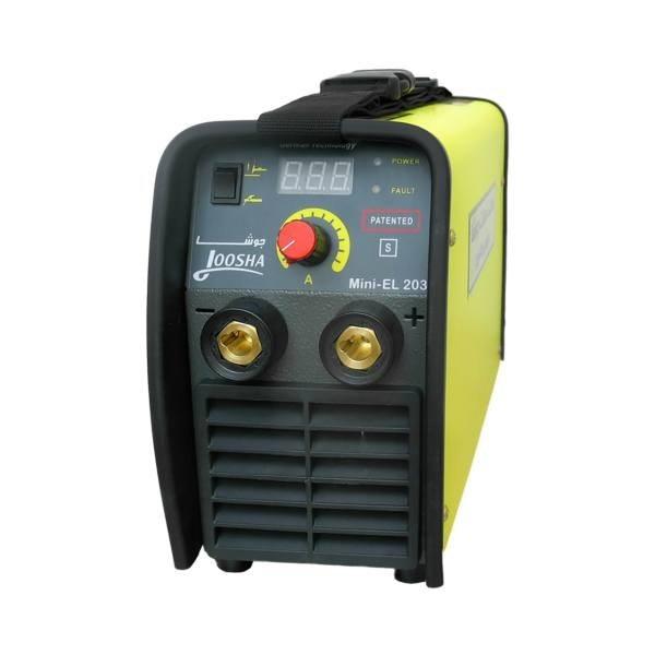تصویر اینورتر جوشکاری 200 آمپر گام الکتریک JOOSHA مدل Mini-EL203 ا 200 amp electric step welding inverter JOOSHA Mini-EL203 200 amp electric step welding inverter JOOSHA Mini-EL203
