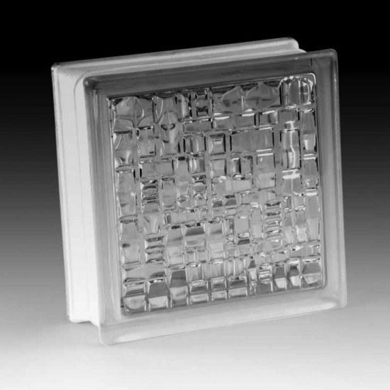 تصویر بلوک شیشه ای کاوه مدل کوبیسم
