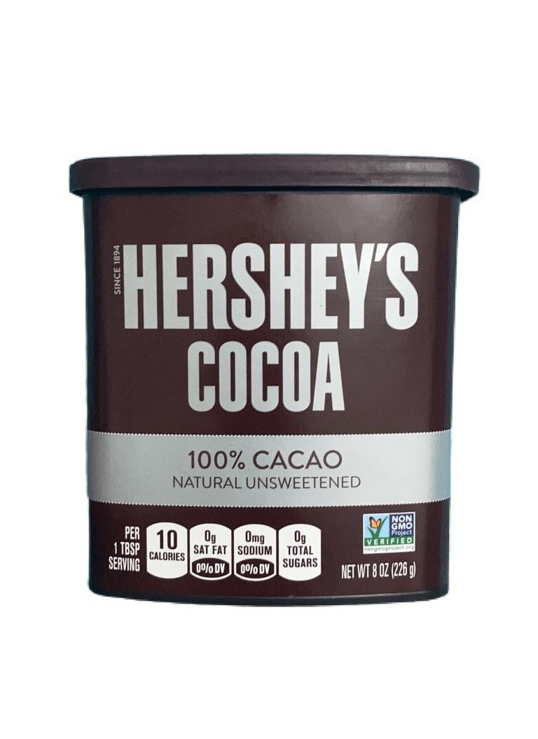 تصویر پودر کاکائو 100% خالص هرشیز 226 گرم
