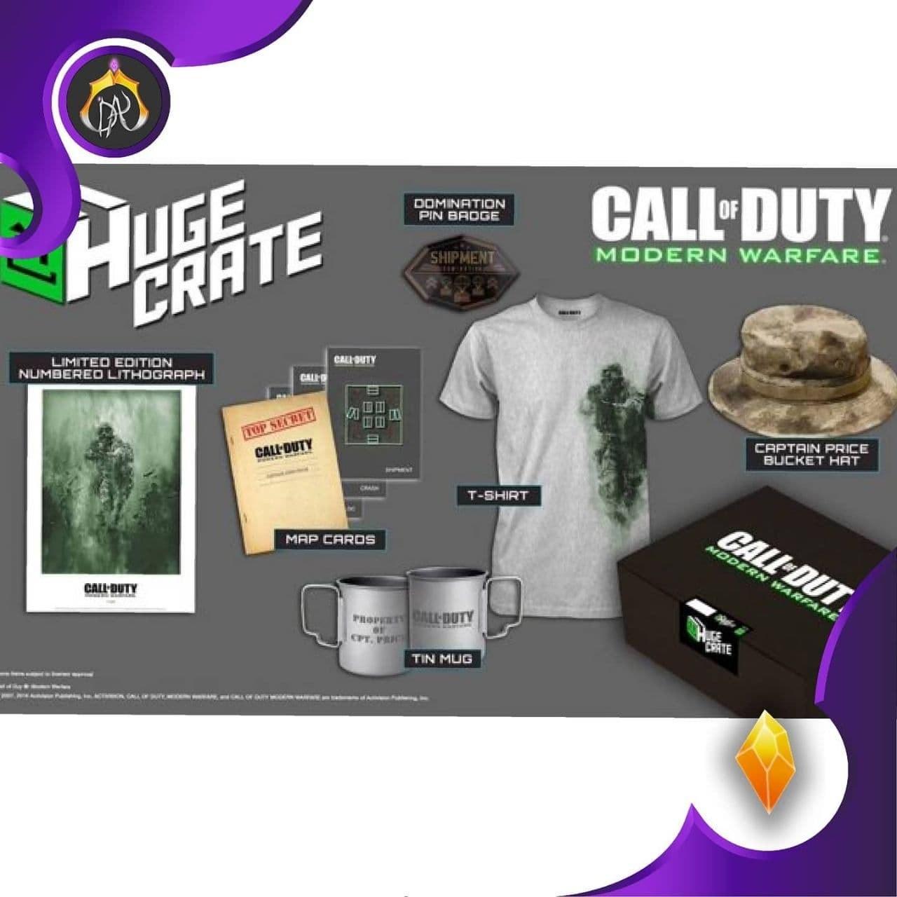 تصویر پکیج وسایل Call of Duty Modern Warfare