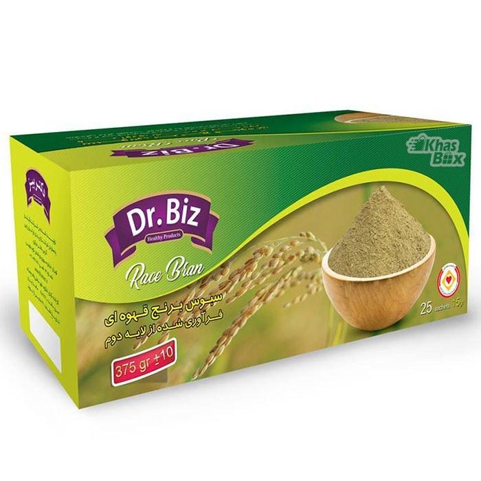 عکس سبوس برنج از لایه دوم برنج قهوه ای Dr. Biz Brown Rice Bran سبوس-برنج-از-لایه-دوم-برنج-قهوه-ای