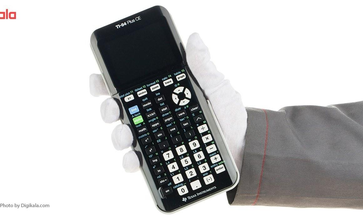 تصویر ماشین حساب تگزاس اینسترومنتس مدل TI-84 Plus CE Texas Instruments TI-84 Plus CE Calculator