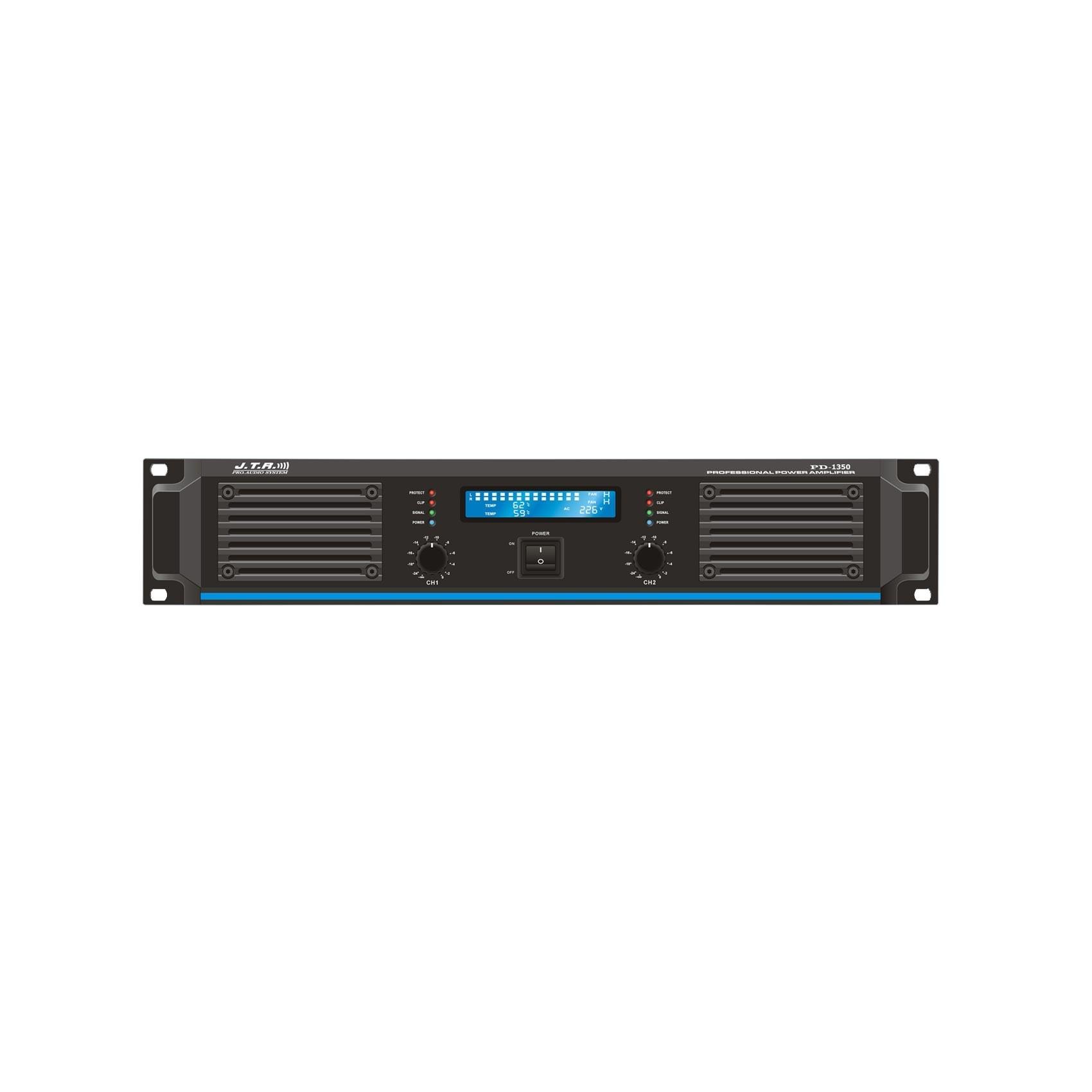 عکس پاور آمپلی فایر جی تی ار مدل PD1350 JTR PD1350 Power Amplifier پاور-امپلی-فایر-جی-تی-ار-مدل-pd1350