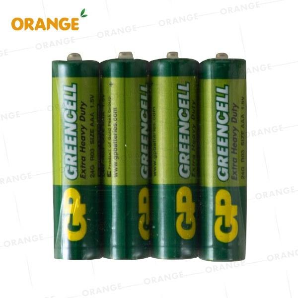 تصویر باتری نیم قلمی شارژی برند جی پی (GP) مدل EXTRA HEAVY DUTY