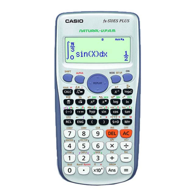 img ماشین حساب FX-570 ES Plus کاسیو Casio FX-570 ES Plus Calculator