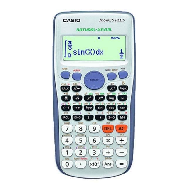 ماشین حساب کاسیو مدل FX-570 ES Plus | Casio FX-570 ES Plus Calculator