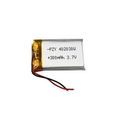main images باتری لیتیوم پلیمر 3.7 ولت با ظرفیت 300mAh