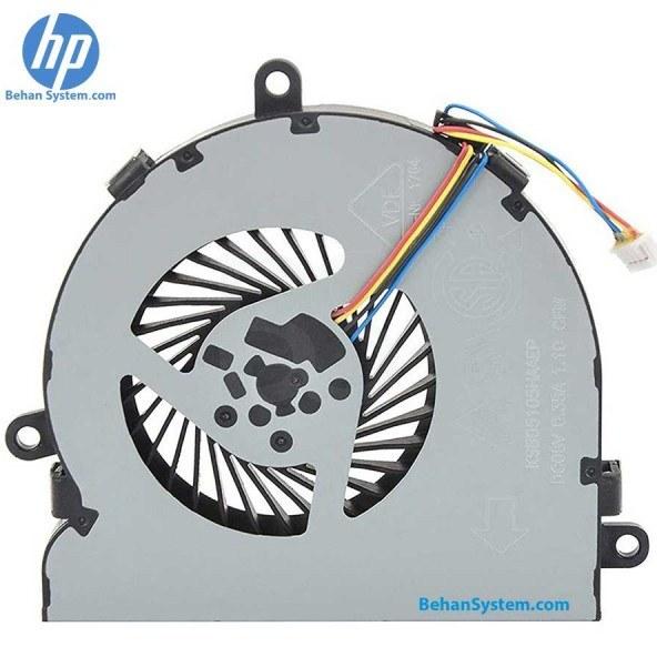 تصویر فن چهار سیم پردازنده لپ تاپ HP 15-AC چهار سیم / DC05V