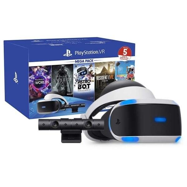 باندل عینک واقعیت مجازی سونی مدل PlayStation VR Mega Pack – ZVR2