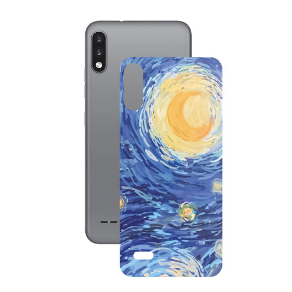 تصویر برچسب پوششی راک اسپیس طرح Starry Night مناسب برای گوشی موبایل  ال جی k22