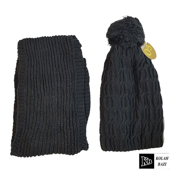 main images شال و کلاه بافت مدل shk55 Textured scarf and hat shk55