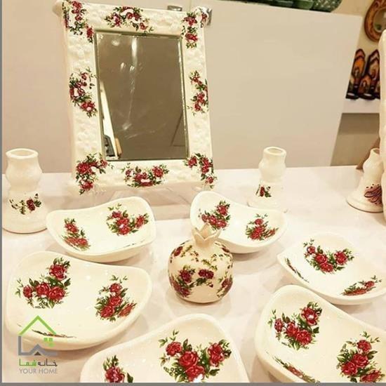 تصویر ظرف هفت سین سنتی ایرانی