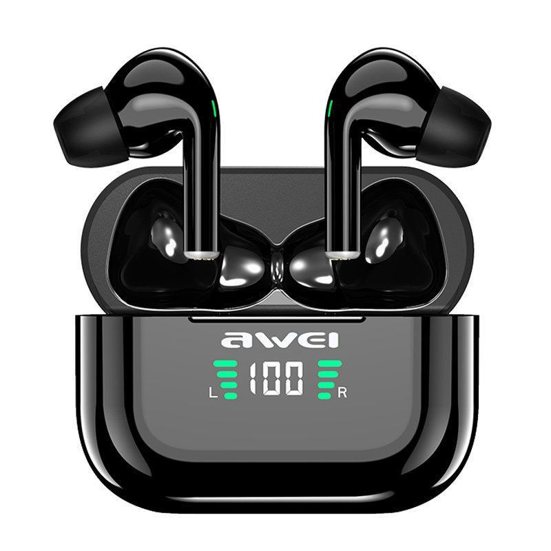 تصویر هندزفری بلوتوث دو تایی Awei T29P ا Awei T29P Bluetooth Handsfree Awei T29P Bluetooth Handsfree