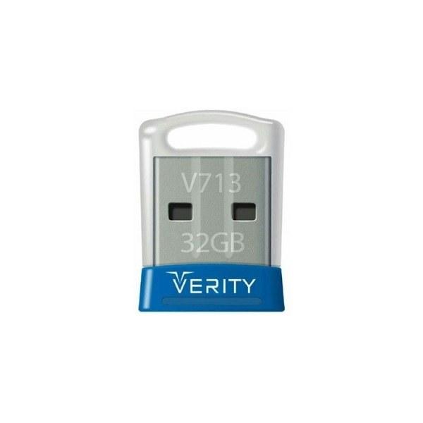 تصویر فلش مموری VERITY مدلV713 ظرفیت 32 گیگابایت Verity Flash Drive V713 32GB