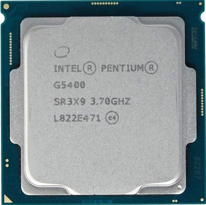پردازنده تری اینتل مدل پنتیوم گلد جی ۵۴۰۰ با فرکانس ۳.۷ گیگاهرتز