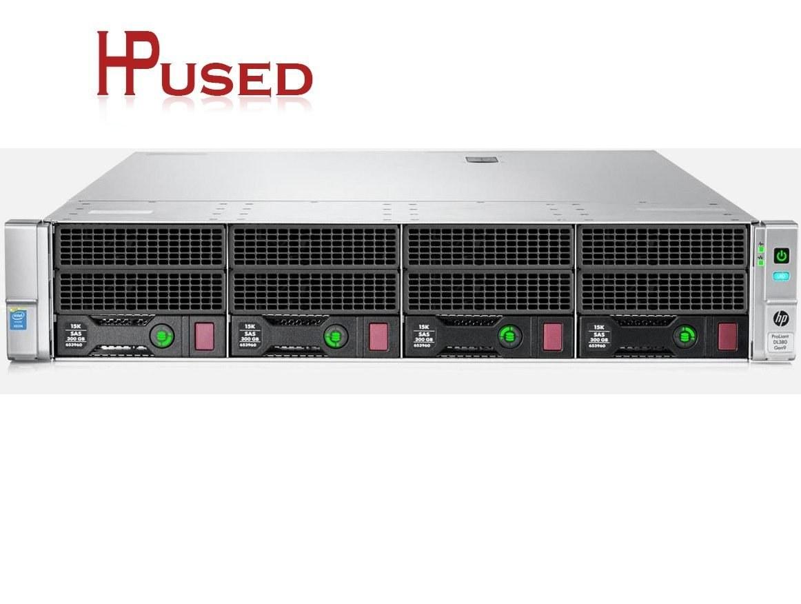 تصویر سرور HP ProLiant DL380 G9 + CPU 2x 2620 v3