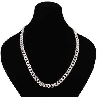 گردنبند نقره مردانه مدوکلاس کد 180440 |