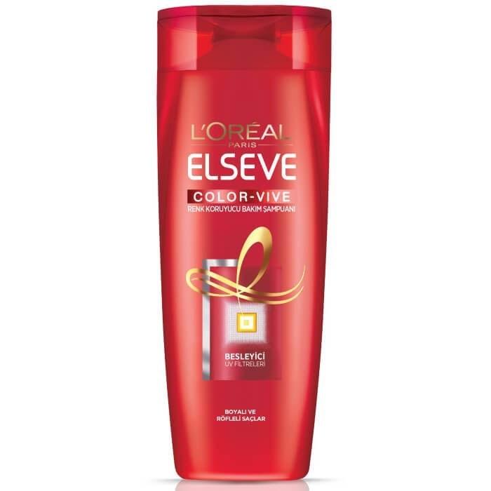 عکس شامپو السیو لورال مدل Color Vive مناسب موهای رنگ شده حجم 550 میل Loreal Color Vive Shampoo For Colored Hair 550ml شامپو-السیو-لورال-مدل-color-vive-مناسب-موهای-رنگ-شده-حجم-550-میل