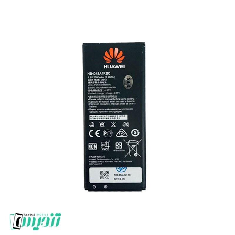 تصویر باتری اصلی هوآوی Huawei Y5 II Battery Huawei Y5 II - HB4342A1RBC