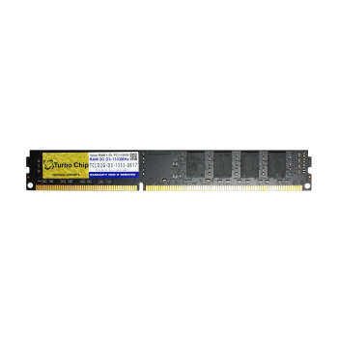 رم دسکتاپ DDR3 تک کاناله 1333 مگاهرتز CL11 توربو چیپ مدل TCLD2G-D3-1333 ظرفیت 2 گیگابایت