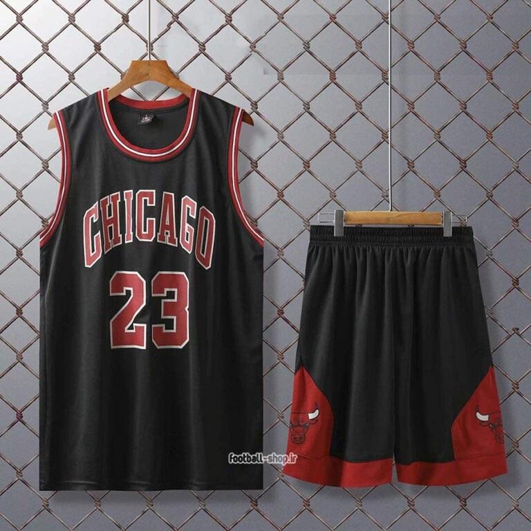 تصویر رکابی و شورت بسکتبال شیکاگو بولز| مایکل جردن 23 ,سوپرسوزنی