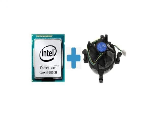 تصویر سی پی یو اینتل مدل Core i3-10100F بدون باکس ا INTEL Core i3-10100F 3.6GHz LGA 1200 Comet Lake CPU TRY INTEL Core i3-10100F 3.6GHz LGA 1200 Comet Lake CPU TRY